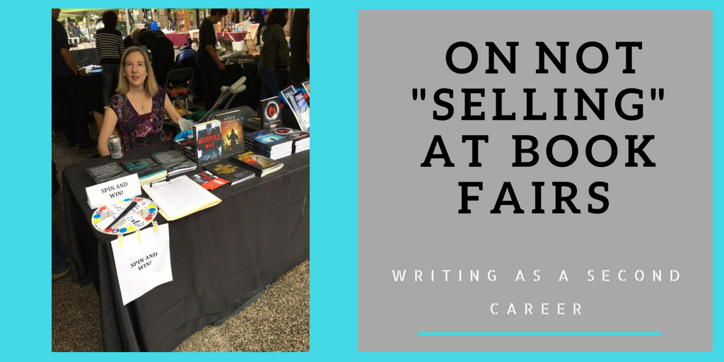 Sitting, Not Pitching, And Relaxing: Lessons Learned At This Year's Book Fair