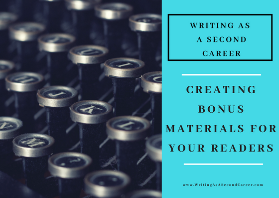 Bonus Materials For Your Readers