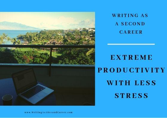 Extreme Productivity (Part 4 – Less Stress)