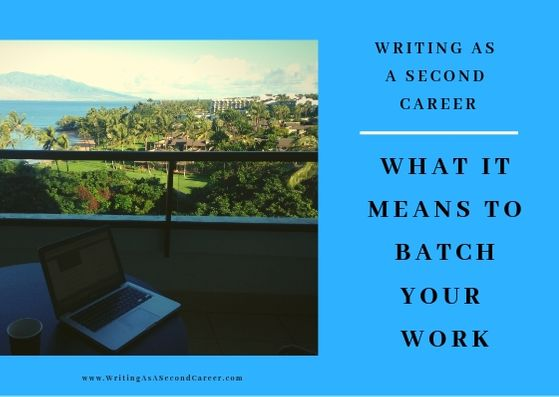 How And Why To Batch Your Writing Tasks