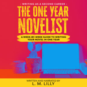The One-Year Novelist Audiobook Cover